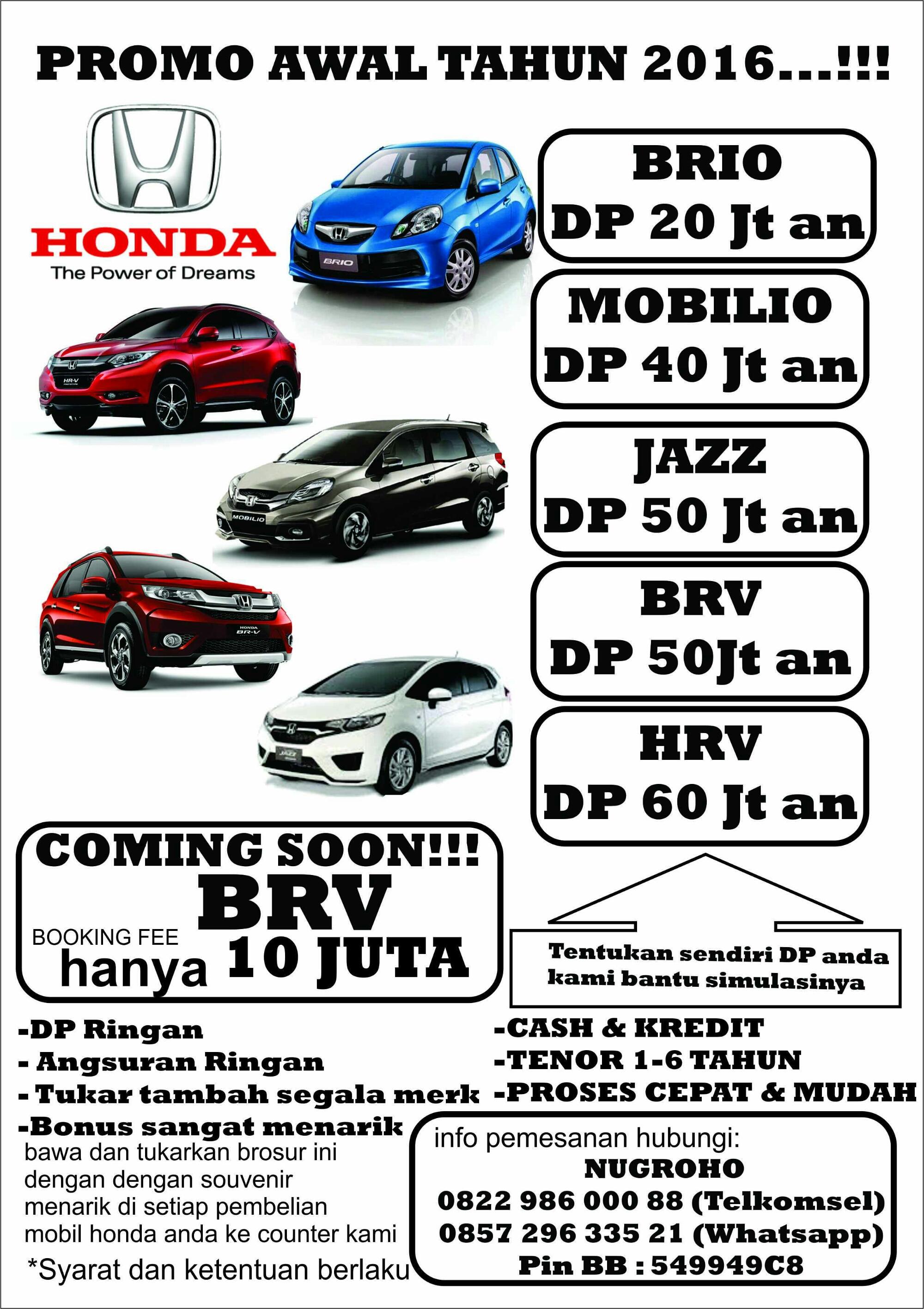 Kekurangan Kredit Honda Brio Dp 50 Juta Perbandingan Harga